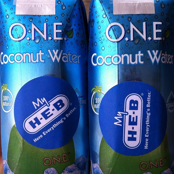ONE coconut water: my daily staple for #Austin. $1 each - cheapest coconut ever! #paleo