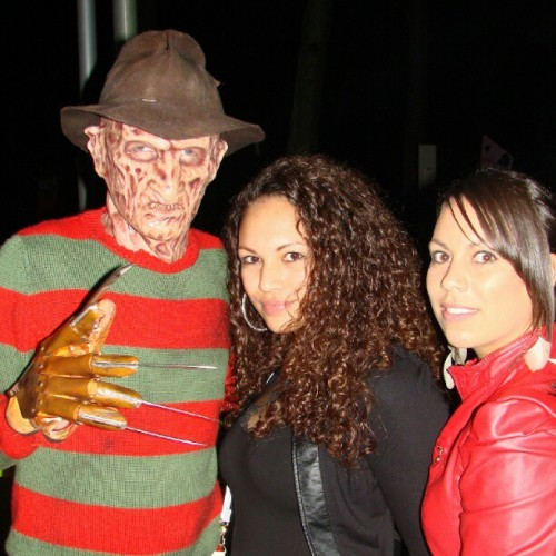 me & my love #freddykrueger at #walibi #hfn