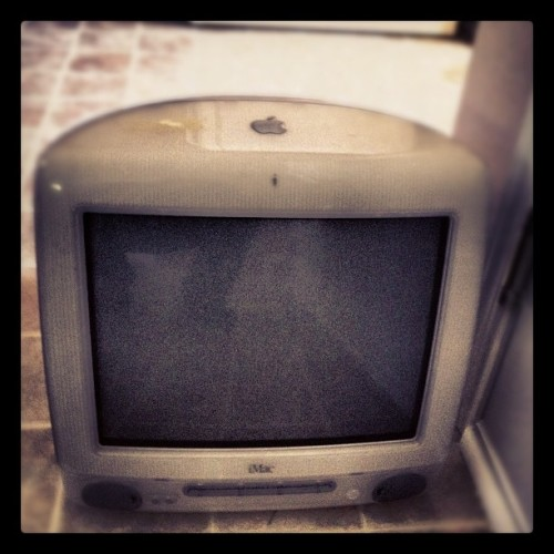 oldie but goodie… #imac #maclife #apple