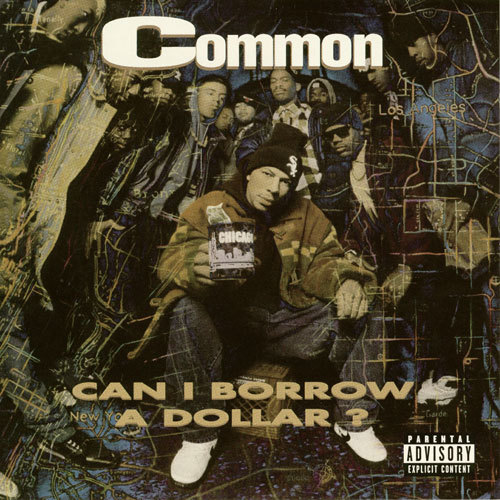 Album Cover (1992) Common Sense // Can I Borrow a Dollar? Click here to view more of Chi Town's finest.