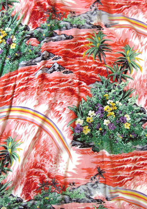 dearbones: 1950s Hawaiian Shirt