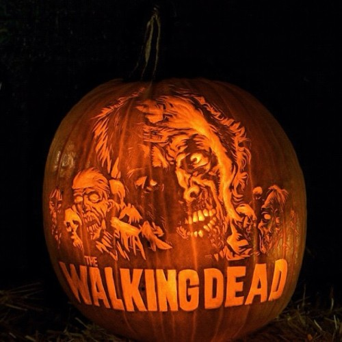 #thewalkingdead #amc #pumpkin #halloween #scary #zombies