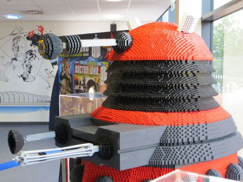 Why did nobody tell me about the full-size 'Lego' Dalek in the Doctor Who Experience?