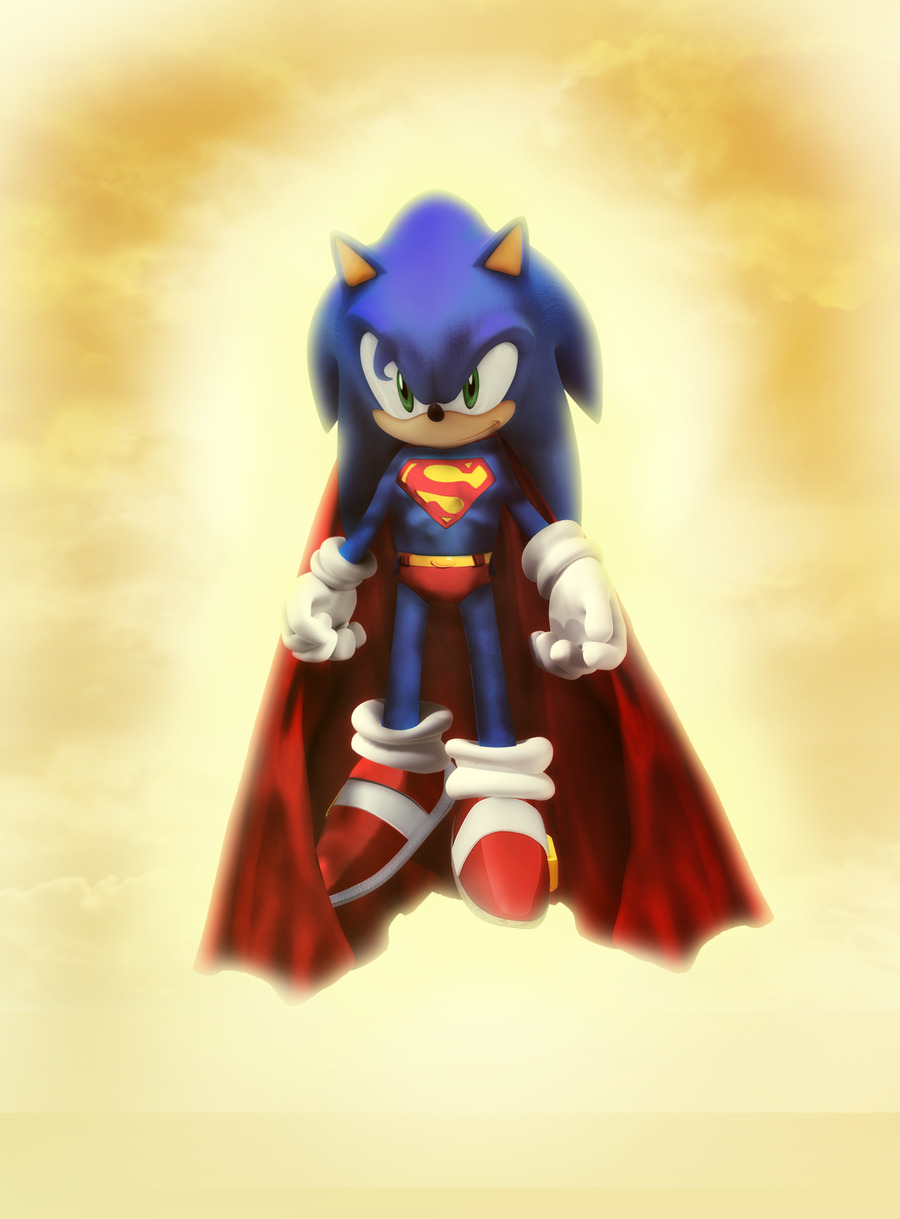 'Super' Sonic by ~darkfailure