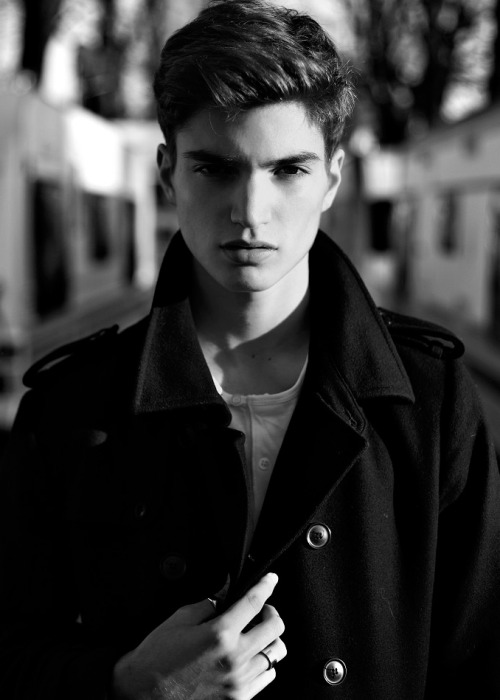 strangeforeignbeauty:  Alexander Ferrario [ b&w | fave models | 1000+ notes | facebook ]