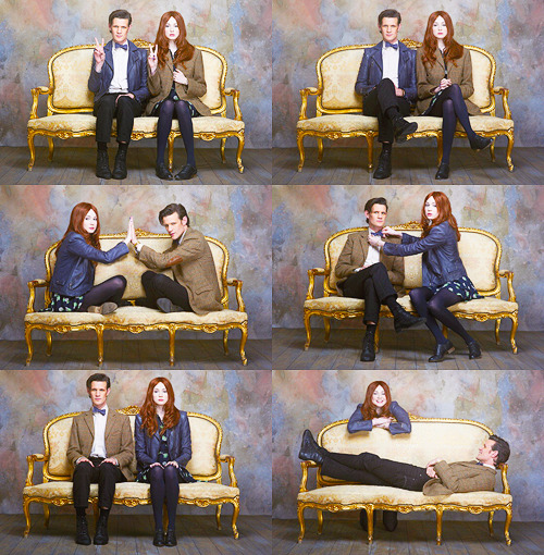 doctorwho:  Matt and Karen