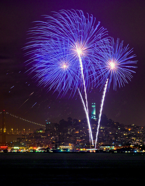 Tower of Power, 4th of July by mikeSF_ on Flickr.