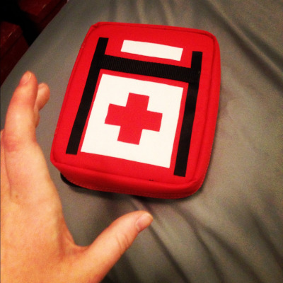 First Aid here! Medkit is (quite nearly) done