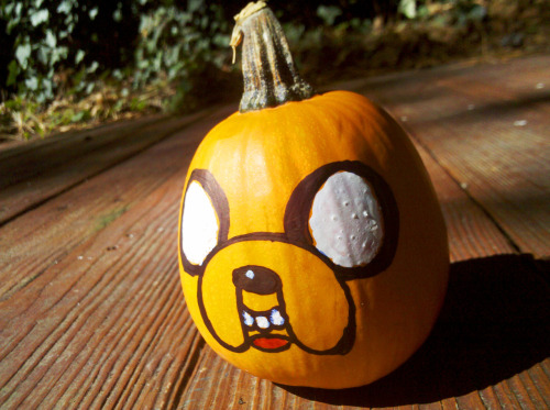 lunchbagart:  Very Small Jake Pumpkin