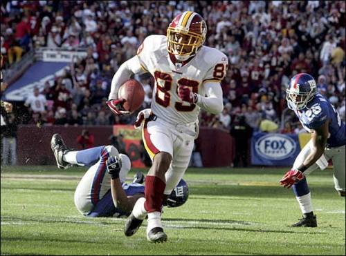12 seasons in, Santana Moss is STILL making plays for the Redskins #HTTR