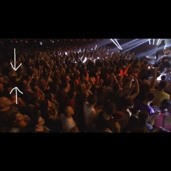 Spotted myself in the iTunes Fest crowd