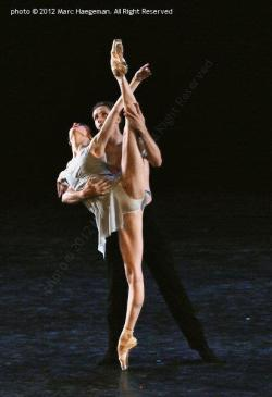 ballerinadiary:  Svetlana Zakharova and Andrey Merkuriev, Bolshoi Ballet, in Distant Cries (chor. Edwaard Liang).Photo © 2012 Marc Haegeman. All Rights Reserved.