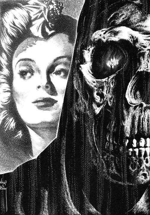 Designersgotoheaven.com - Behind every great.. by Virgil Finlay. (by P-E Fronning)