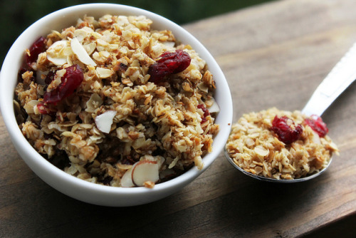 Cranberry Almond Granola by thefreshfridge on Flickr.