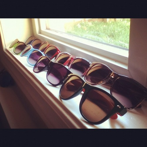 Sneak peak of the collection. 😎👓 #sunglasses #collection #fashion