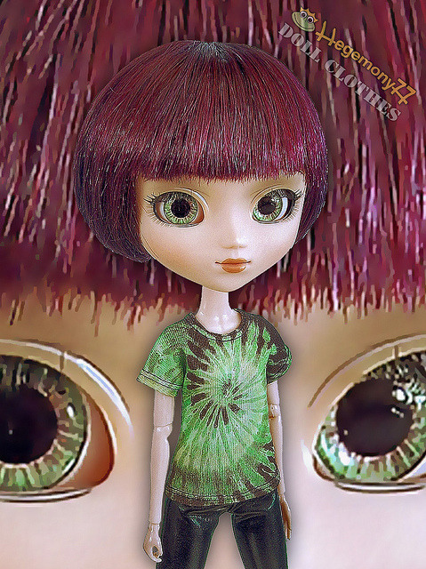 Pullip doll tie dyeyes on Flickr.Doll clothes and photo made by Hegemony77