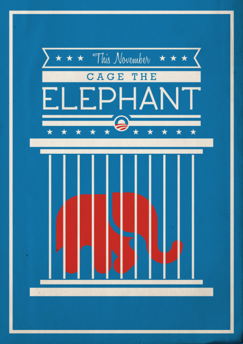 betype:  This November, Cage The Elephant Elephant designed by Adrijan Karavdic from The Noun Project Submitted by creativetuna *Betype's note: This blog doesn't necessary support or agree any political or religious opinion of the submitted images*