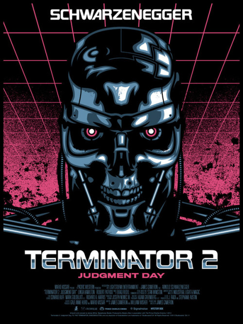 Terminator 2: Judgment Day Poster by James White