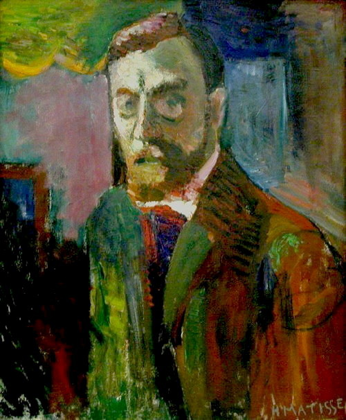 Henri Matisse, Self-Portrait, 1900
