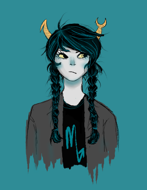 golgotha:  vriska with braids???