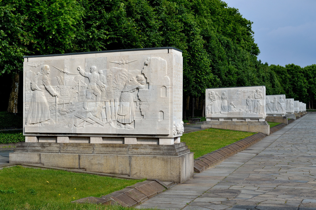 Treptower Park, Berlin.