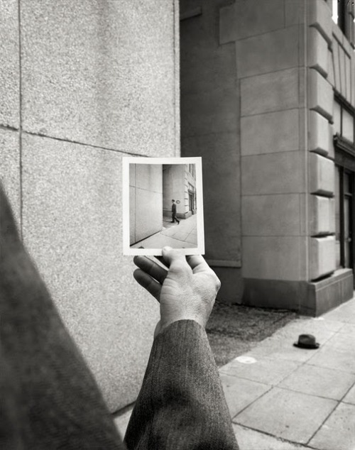 "showslow:  Geof Kern stands among the most awarded American photographers. With an unfettered imagination he worked for the most creative magazines and ad agencies. His very distinctive work is a combination of rationalism and conceptualism, inspired by ""post-modernist"" painters. Geof Kern works on a storyboard before shooting, creating images with a particular cinematographic mood and capturing a very original world. His photographs are exhibited all around the world."