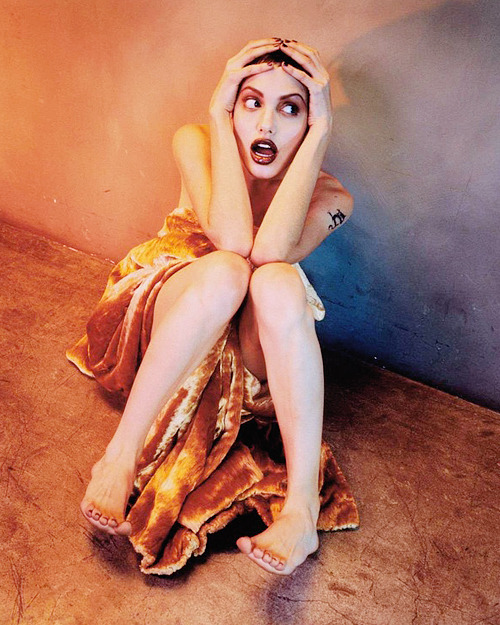 60/100: Angelina Jolie by Isabel Snyder, 1998
