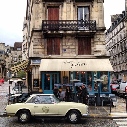 Café + Mercedes. (at Chez Julien)