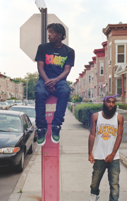 clementpascal:  Flatbush Zombies, July 12, Flatbush.