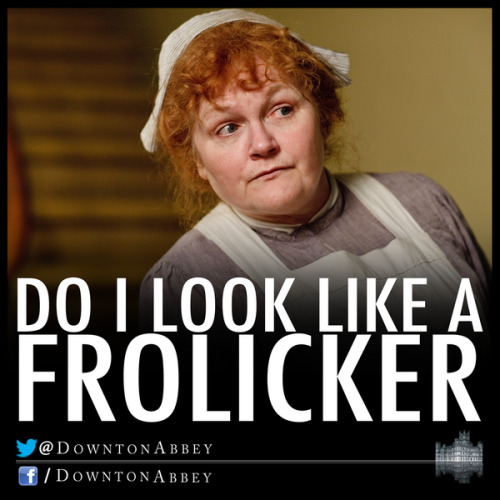 via Downton Abbey twitter
