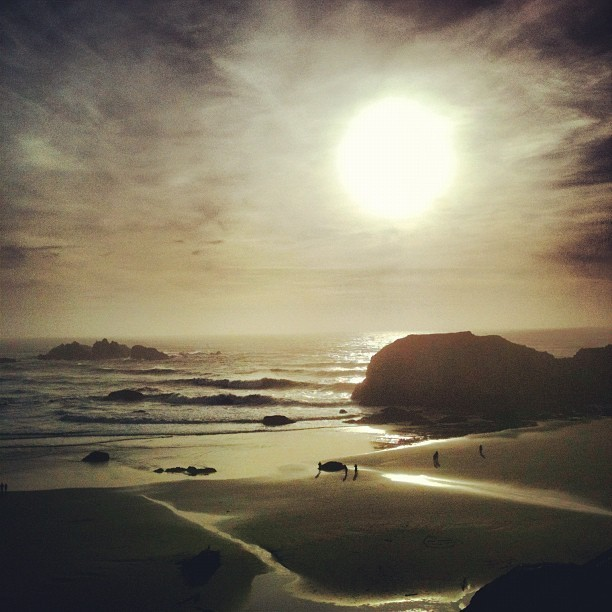 Bandon, Oregon Sunset
