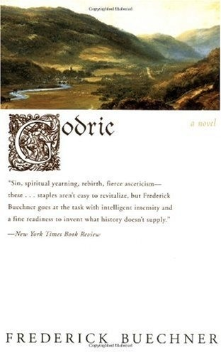 Now Reading, after being on the Reading List for a cool decade.  Godric By Frederick Buechner