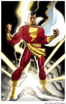 Captain Marvel/Shazam by Chris Stevens and John Saberre