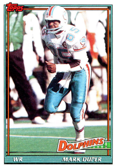 Football Sunday Mark Duper
