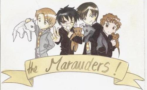 Cute marauders ^.^