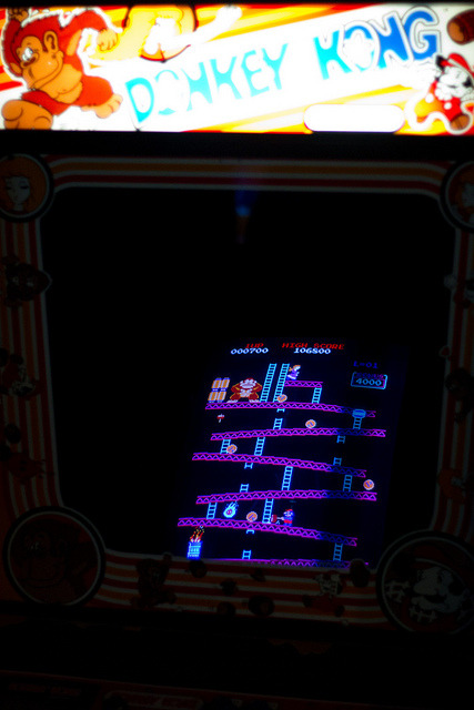 untitled on Flickr.love donkey kong , favorite game as a kid