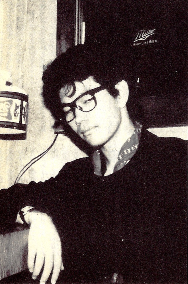 spaceleech:  A young Hideaki Anno from the Wings of Honneamise artbook, 1987.