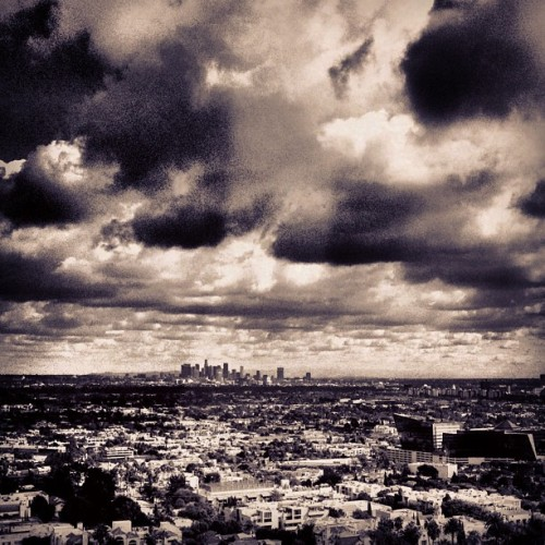 …and the sky was grey.  (at 9200 Sunset Blvd)