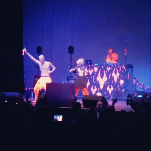 Another shot of Die Antwoord from 10/18 at #thepageant #dieantwoord