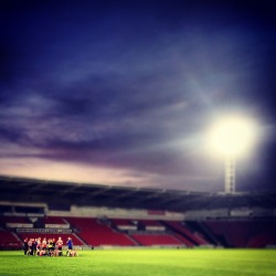 Keepmoat Stadium, Doncaster Rovers & Doncaster Rovers Belles, England (submitted by GW)