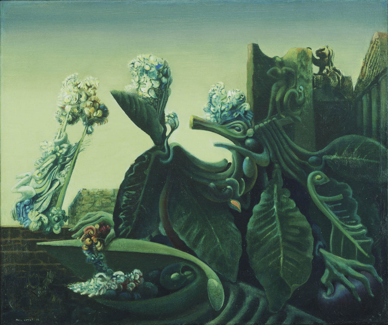 Max Ernst, The Nymph Echo, 1936