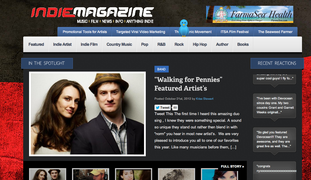 So excited about our feature in Indie Artist Magazine!  http://indieartistmagazine.com/archives/1243