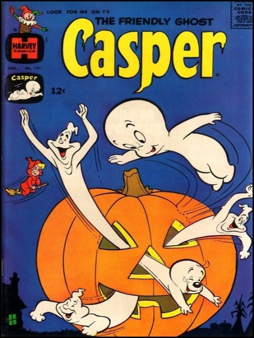Casper The Friendly Ghost comic book cover - Halloween 1967
