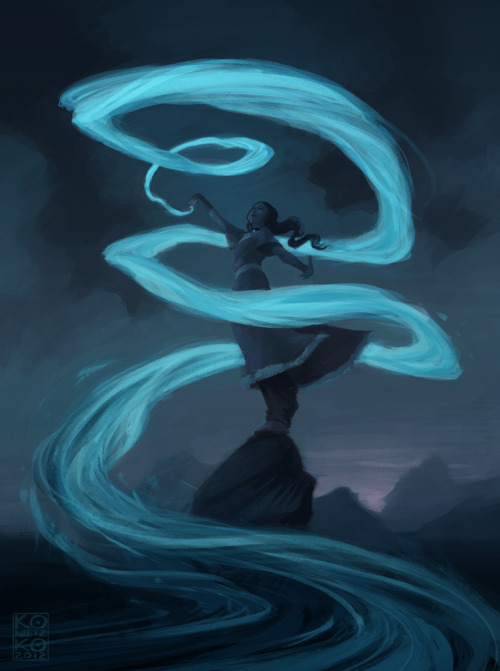 bryankonietzko:  KATARA This piece was inspired by the bewitching and bewildering work of Amei Zhao, aka seventypercentethanol, who consistently blows my mind here on Tumblr.  What a wonderful picture. Love the flow and color.