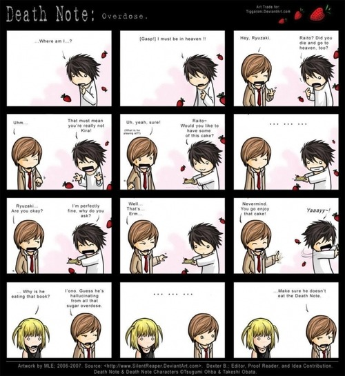 death note fanfic | Tumblr