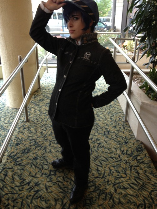 Naoto Shirogane from persona 4. I regret not getting the rest of the cast.