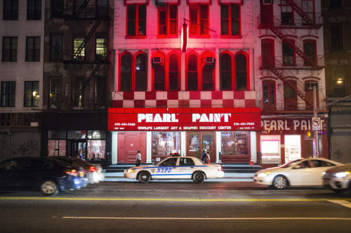 Marc Lafrenière: Pearl Paint, New York, 2012.