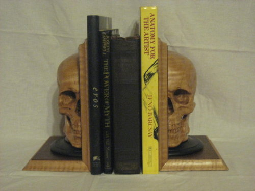 bookends1 by ~WaterwalkerWoodworks on deviantART