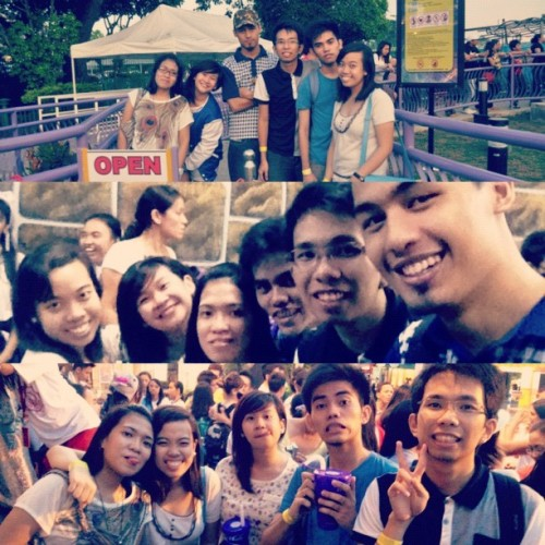 Gala/bond mode! ❤ :)) #college #friends #EK #fun  #smile #sembreak #love