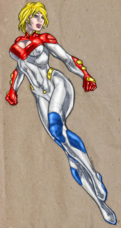 Power Girl My New 52 by Marcelo di Chiara